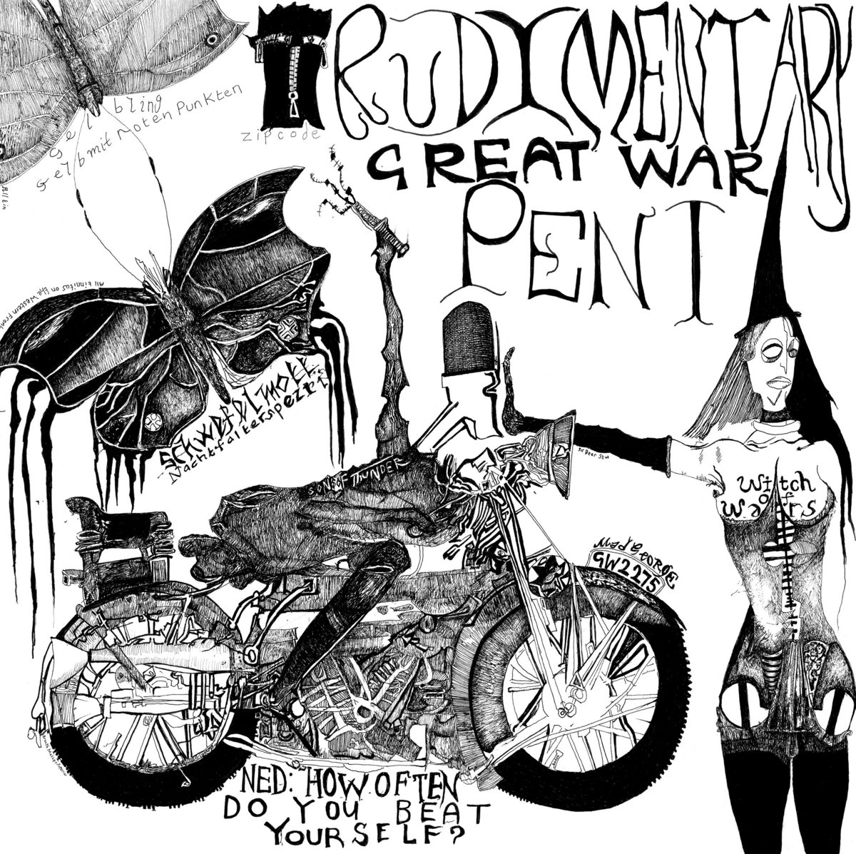 Rudimentary Peni – Great War